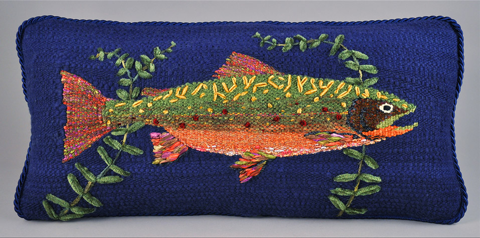 pillow amazon giant trout ac fish dp com stuffed rainbow huge